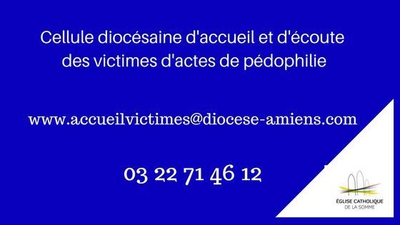 Cellule diocésaines d'accueil et d'écoute des victimes d'actes de pédophilie