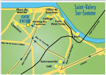 Plan St Valery