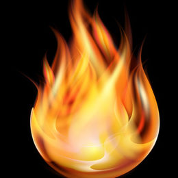 flamme de l'esprit-saint