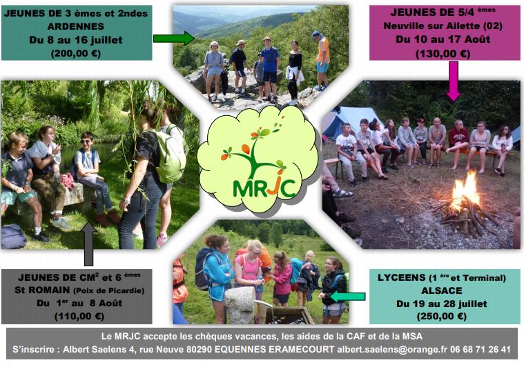 MRJC CAMPS ETE 2021